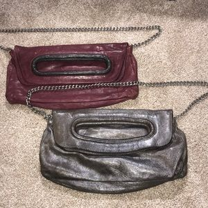 2 for 1 Cynthia Rowley clutch/ shoulder bag